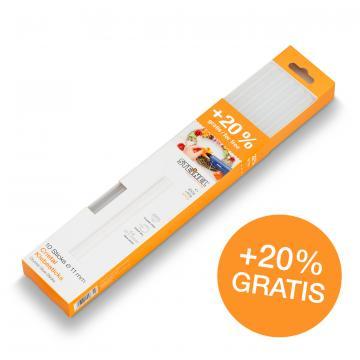Bâtons de colle transparente Ø 11 mm 300 g