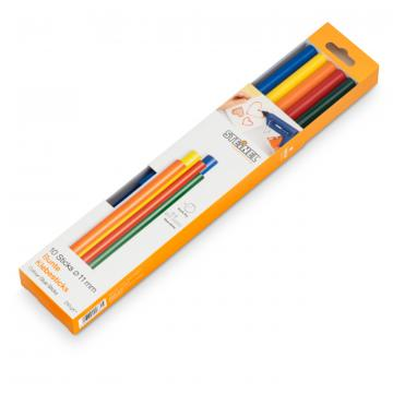 Bâtons de colle colorés Ø 11 mm