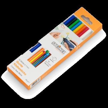 Bâtons de colle couleur Ø 7 mm 16 pces (96 g)