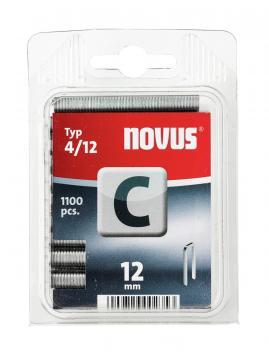 Modèle C 4/12 mm zinguée 1100 pcs