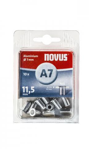 A7 5 x 11,5 mm M5 alu 10 p.