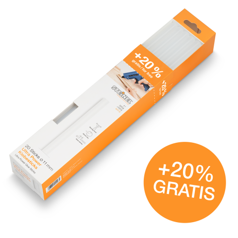 Bâtons de colle Ø 11 mm Ultra Power 600 g 20 pces (600 g)