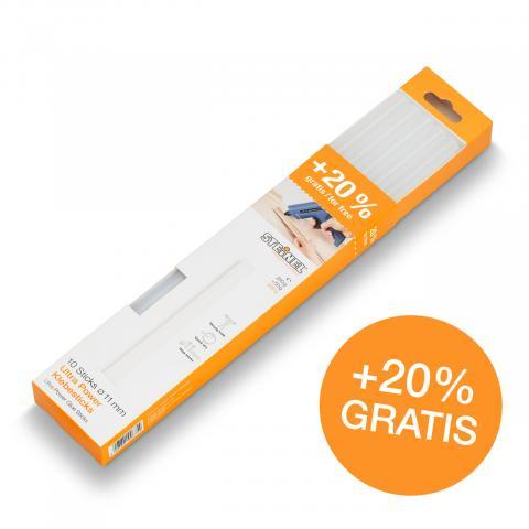 Bâtons de colle Ø 11 mm Ultra Power 300 g 10 pces (300 g)