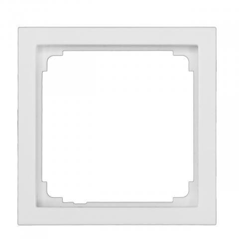 Cadre adaptateur IR/HF 180 Busch-Jaeg. - blanc