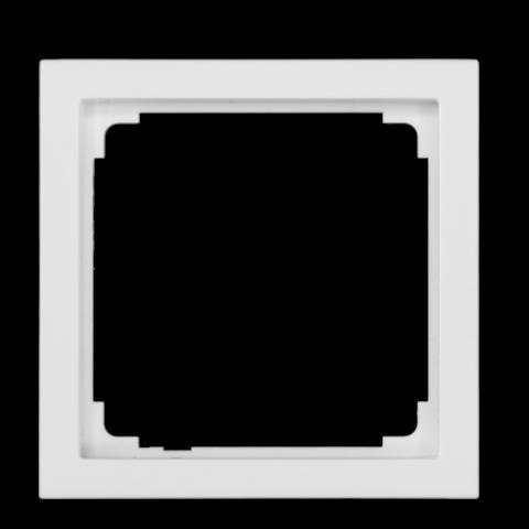 Cadre d'adaptateur pour IR 180 / HF 180 Busch-Jaeger - blanc