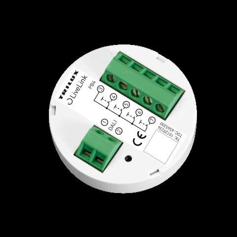 Coupleur pour 4 boutons-poussoirs DALI LiveLink