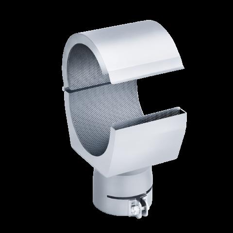Buse réflectrice à clapet de 72 x 70 mm