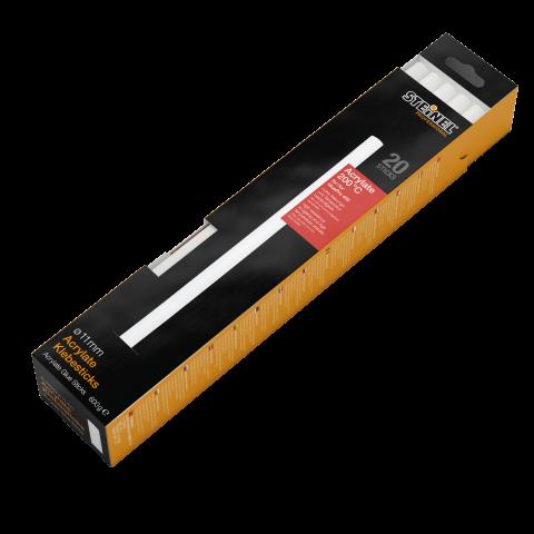 Bâtons de colle d'acrylate Ø 11 mm 20 pces (600 g)