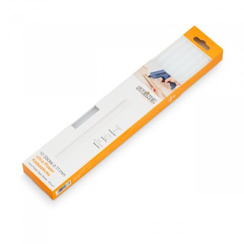 Bâtons de colle Ø 11 mm Ultra Power 10 pces (250 g)