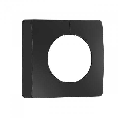 Panneau noir pour détecteur IR carré - en saillie