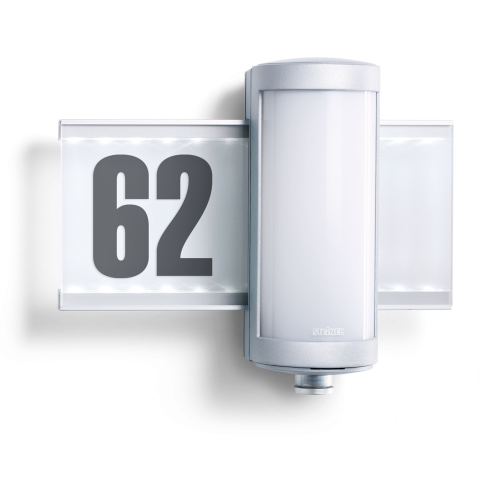 L 625 LED Alu argenté