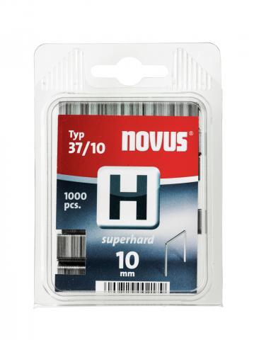 Modéle H 37/10 mm extra-dur zinguée 1000 pcs
