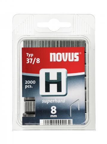 Modéle H 37/8 mm extra-dur zinguée 2000 pcs 2000 p.