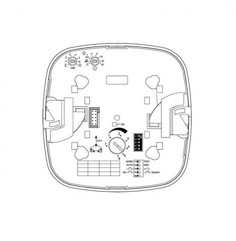 IR Quattro HD COM1 - blanc