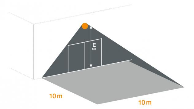 XLED PRO Square blanc