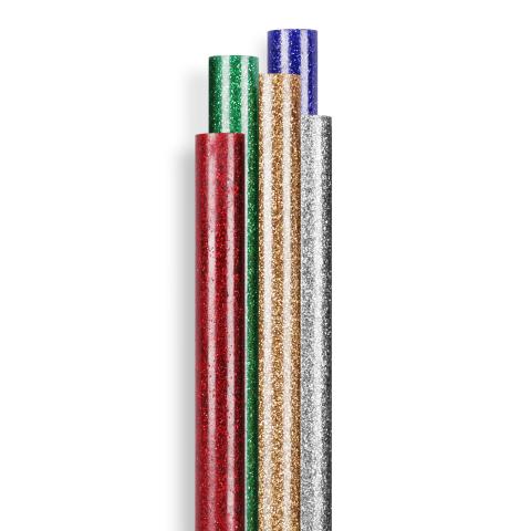 Bâtons de colle à paillettes Ø 7 mm 16 pces (96 g)