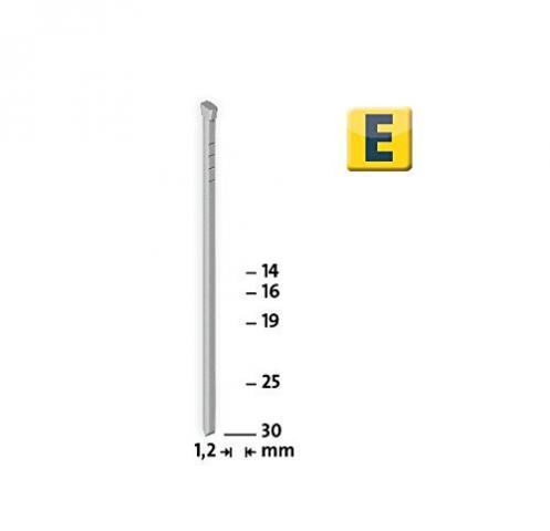 Modéle E J/16 mm zinguée 1000 pcs 1000 p.